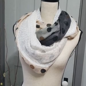 Collection Eighteen Crochet/Ombre Infinity Scarf